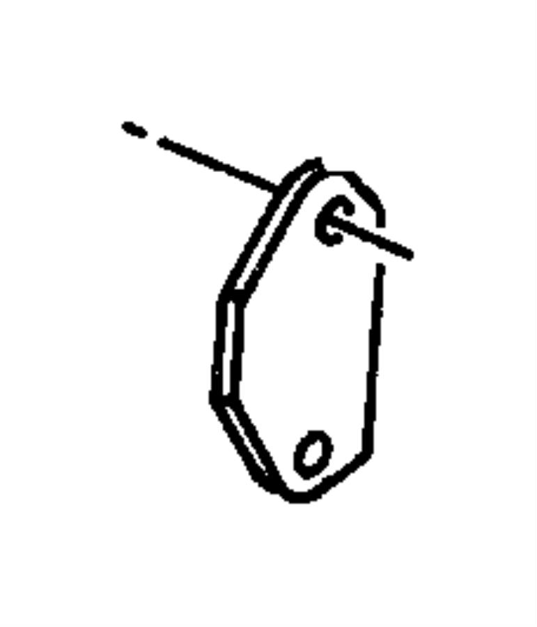 Dodge Neon Cover. Egr port. [3.8l v6 ohv engine], cover