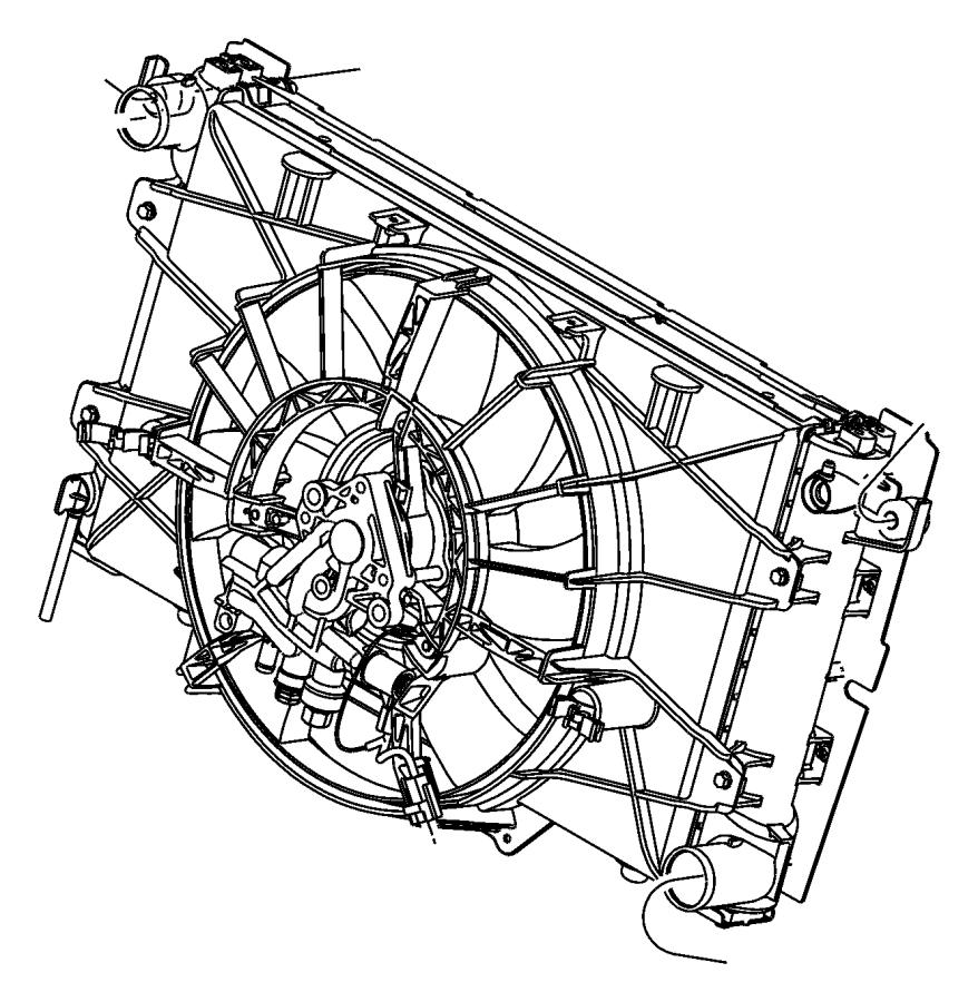 2006 Dodge Viper Radiator. Engine cooling. Maintenance