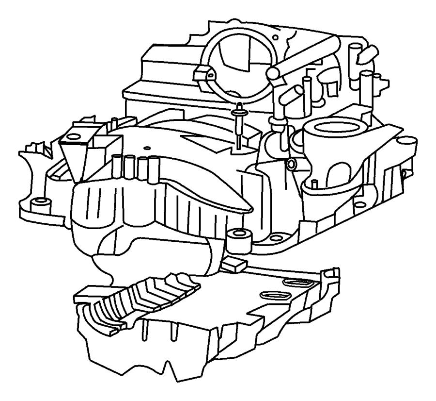 Chrysler Concorde Clip. Emission. Egr to intake, egr tube