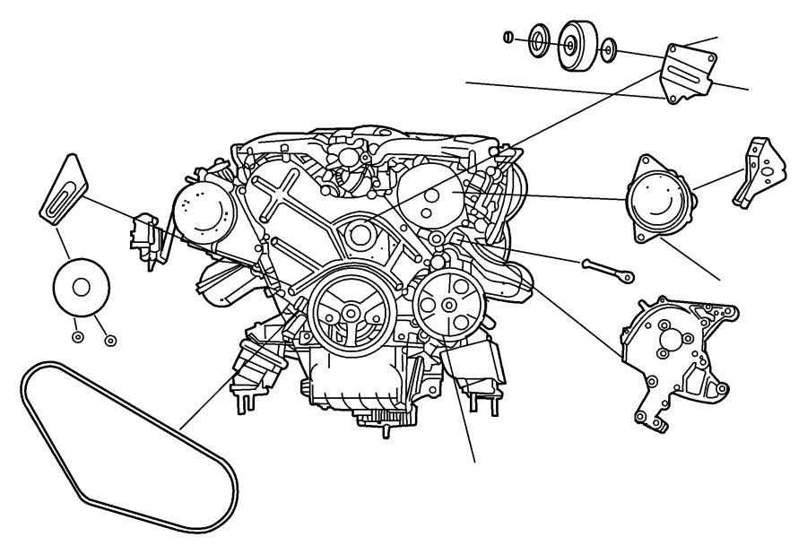 Dodge Intrepid Generator. Engine. Remanufactured