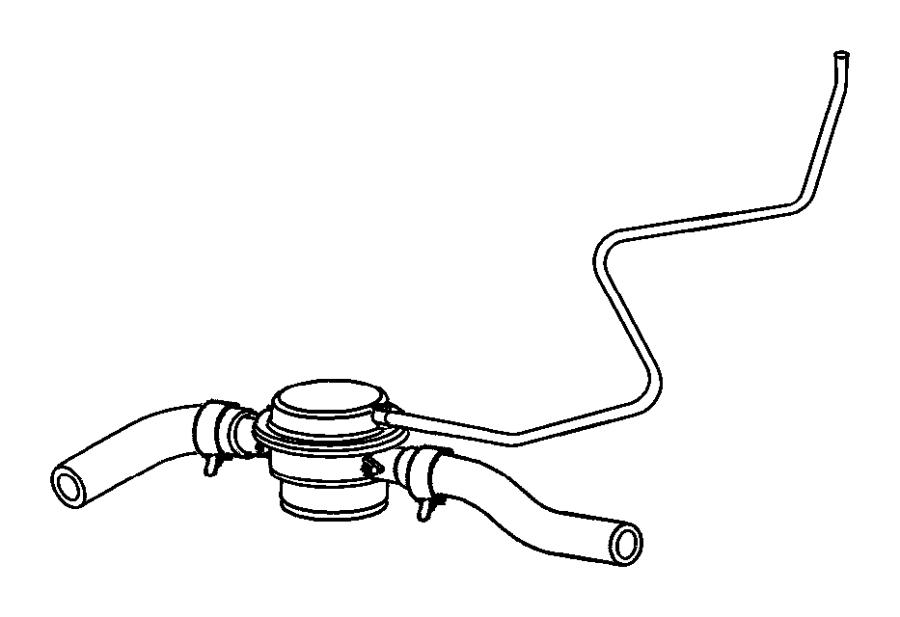 2008 Dodge Avenger Valve. Flow. Fuel, tank, cap