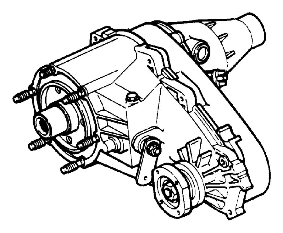 2003 Dodge Durango Transfer case. Nv233. Remanufactured
