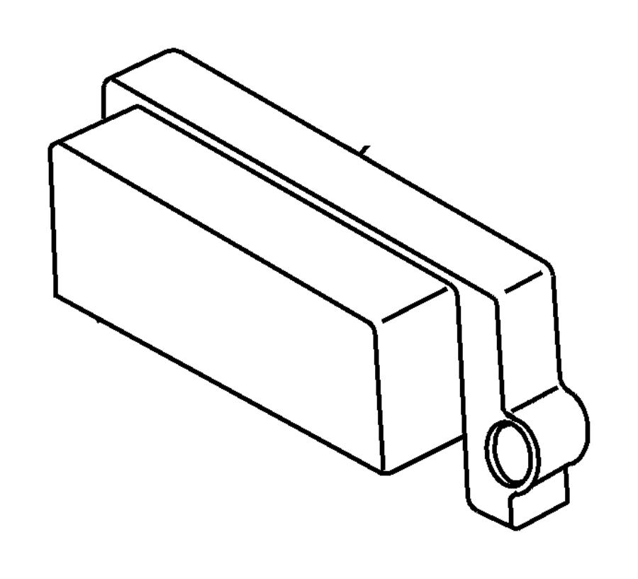 Jeep Wrangler Module. Engine controller. Remanufactured