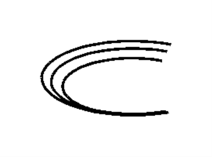 2006 Chrysler PT Cruiser Shifter. Transmission. Gearshift