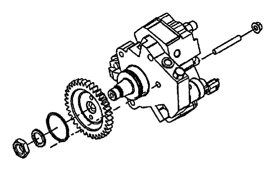 2009 Dodge Ram 2500 Pump. Fuel injection. Emissions