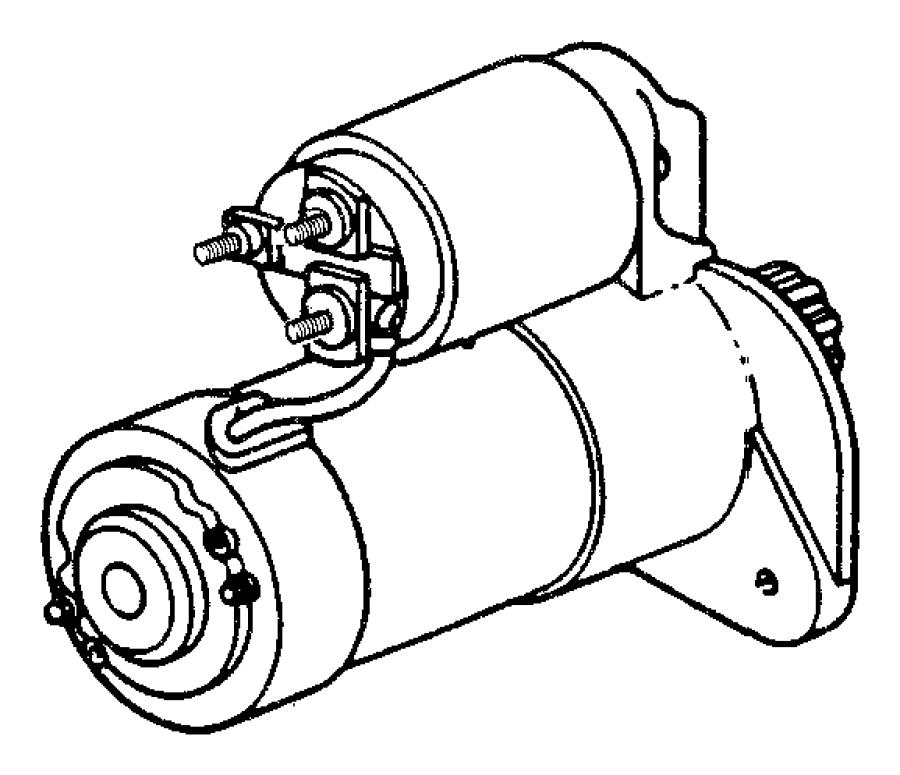 2003 Jeep Grand Cherokee Starter. Engine. Maintenance