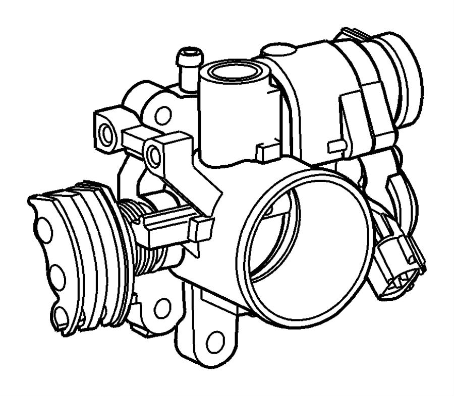 2002 Chrysler PT Cruiser Sensor. Throttle position