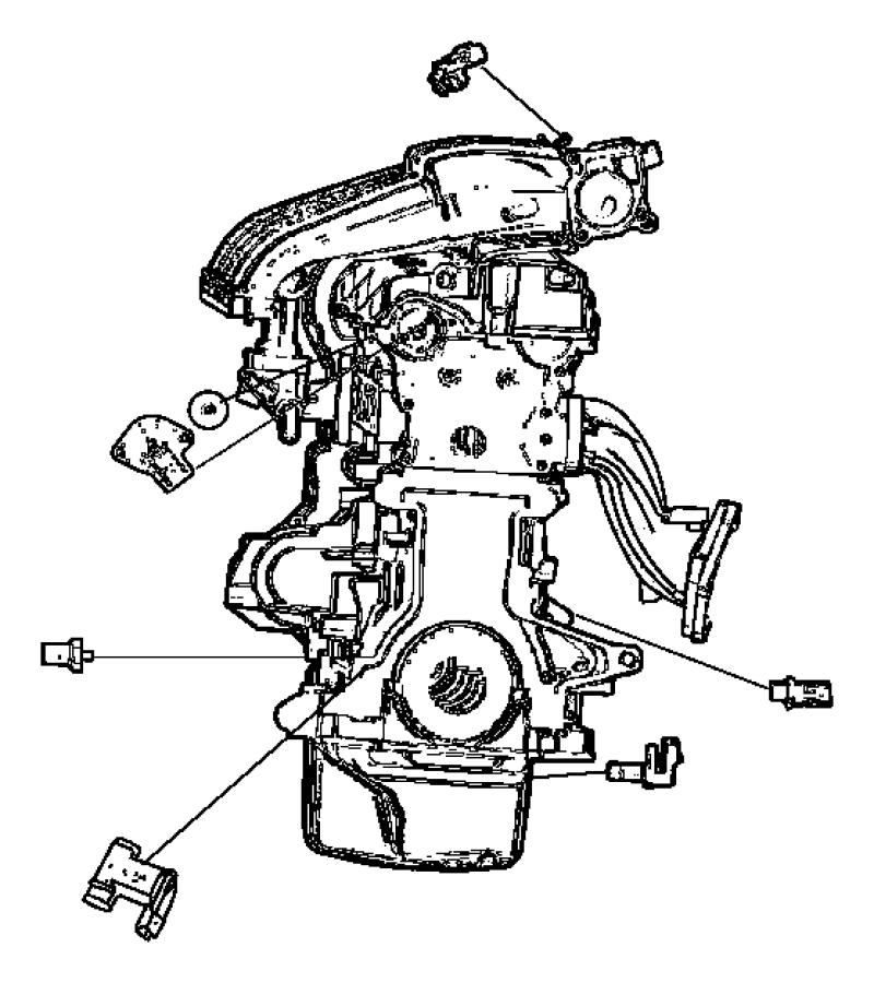 2011 Dodge Ram 5500 Sensor. Crankshaft position. After 06