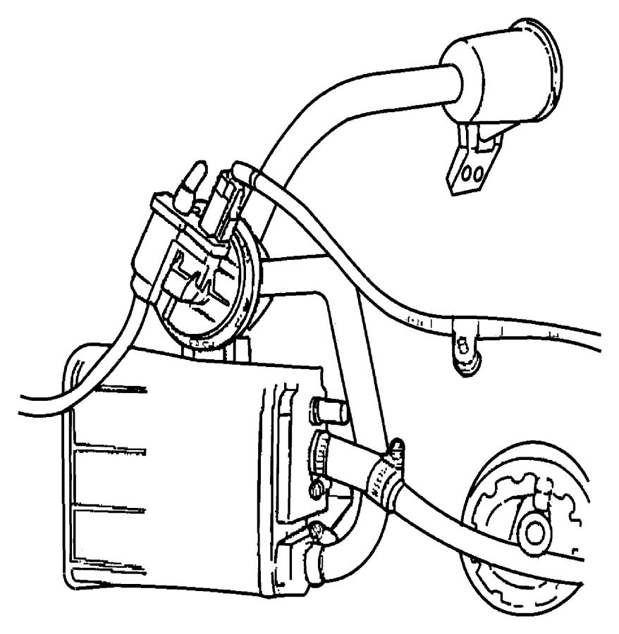 1999 Dodge Stratus Bracket. Air filter. Mexicoemissions