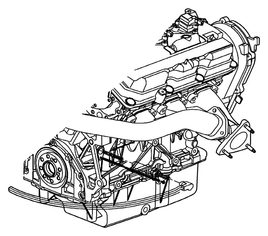 2009 Dodge Grand Caravan Cord. Engine block heater. 3.5l