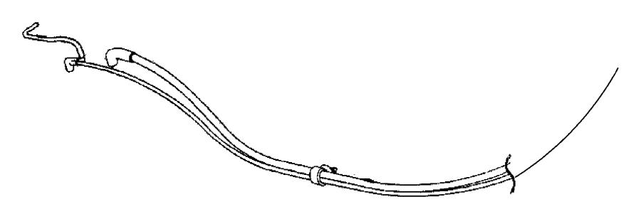 2001 Dodge Ram 1500 Harness. Vacuum canister purge. Mopar