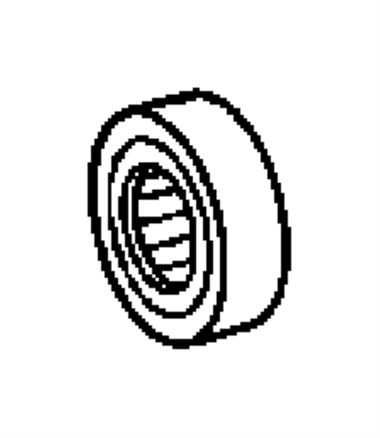 2006 Jeep Wrangler Bearing. [80mm]. Case, related, rear