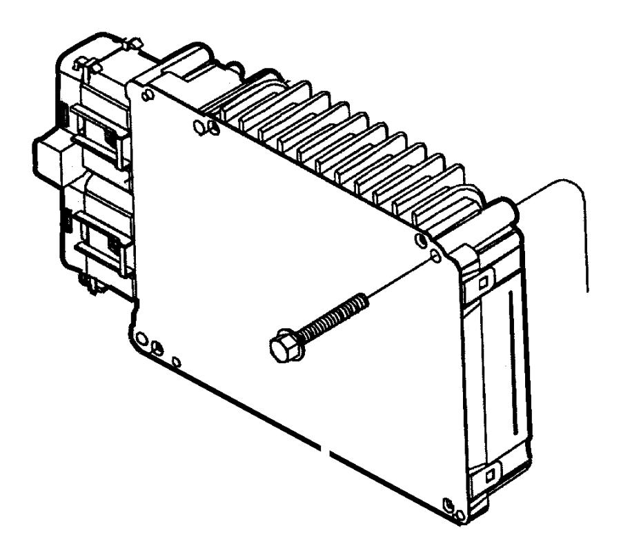 Dodge Intrepid Module. Powertrain control. Remanufactured