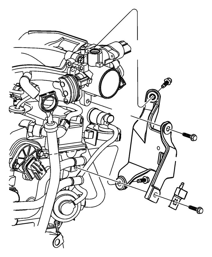 Dodge Grand Caravan Capacitor. Ignition. After 03/01/04