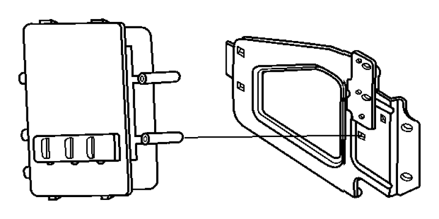 2010 Dodge Ram 2500 Module. Powertrain control. Generic