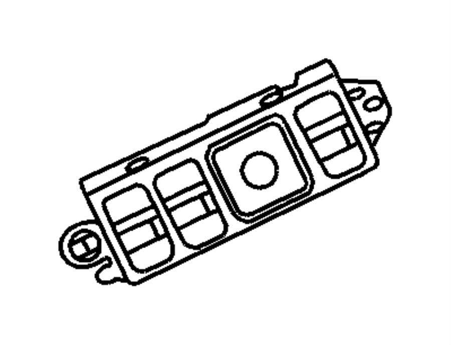 1998 Dodge Durango Switch. Power seat. Seat adjuster (6