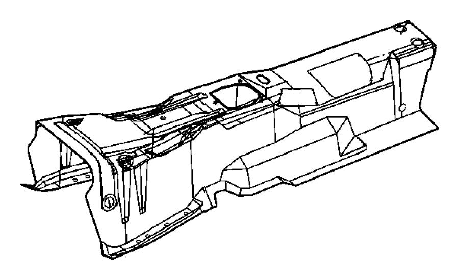 Chrysler Aspen Nut. Hex flange lock. M8x1.25. Front wiper