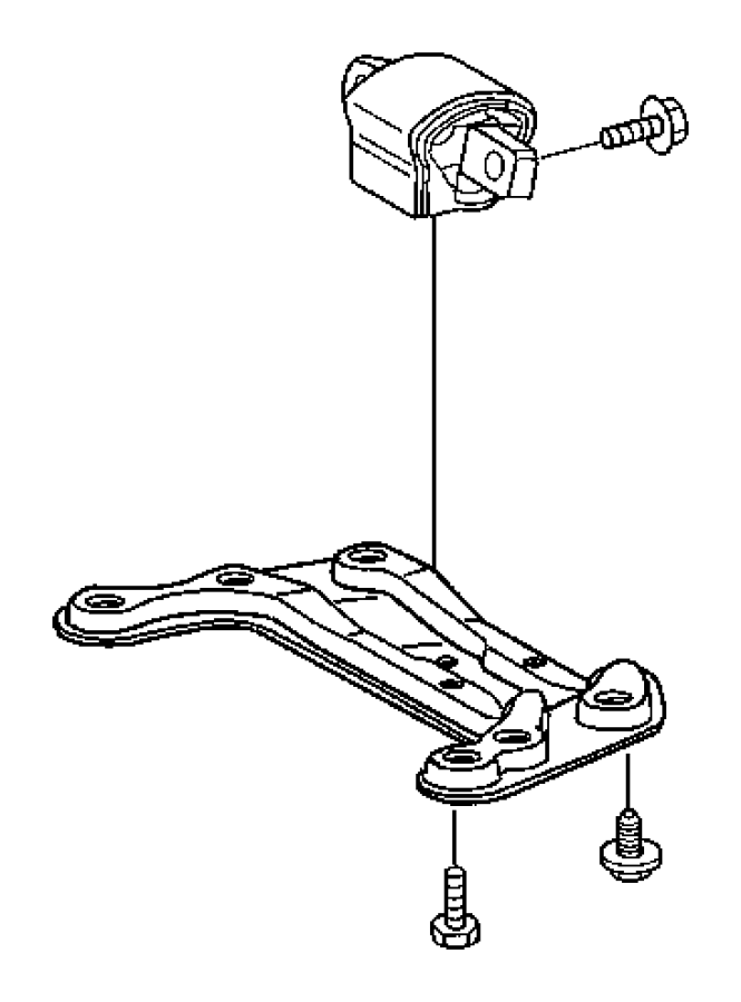 2012 Dodge Avenger Bolt, screw. Hex flange head. M8x1