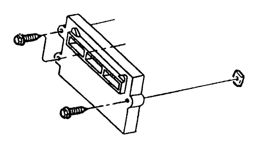 2010 Dodge Dakota Module. Powertrain control. Mopar