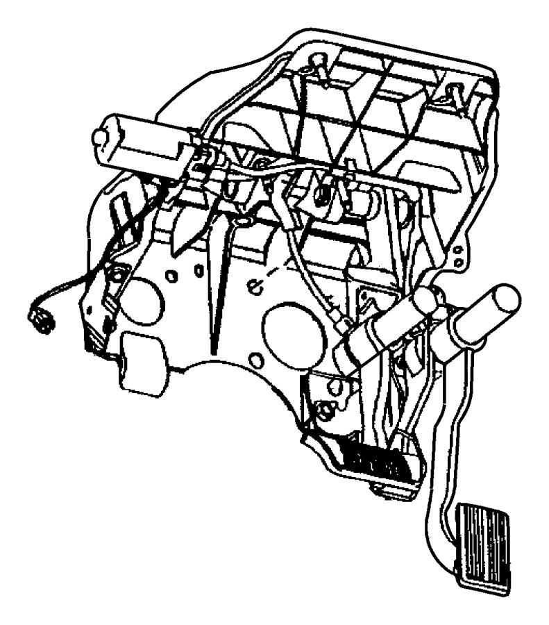 2012 Dodge Ram 1500 Bracket. Steering column. Used for