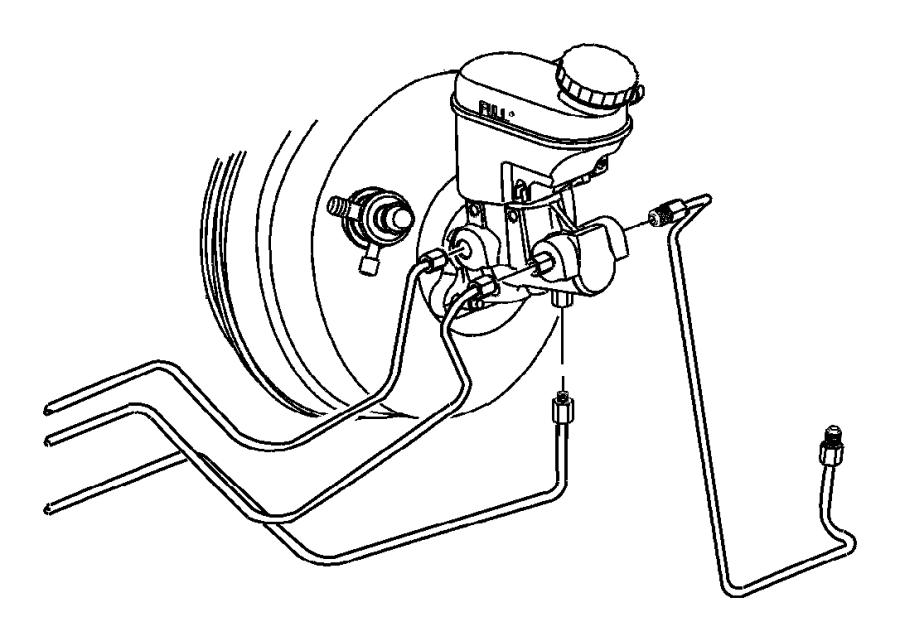 2005 Dodge Neon Valve. Proportioning. Brakes, front, drum