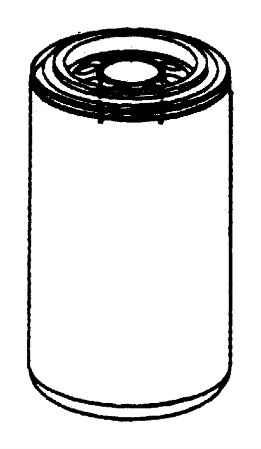 2008 Dodge Ram 5500 Filter. Engine oil. Cartridge, lub