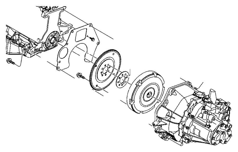 2003 Dodge Neon Transaxle. Gear, ratio, production