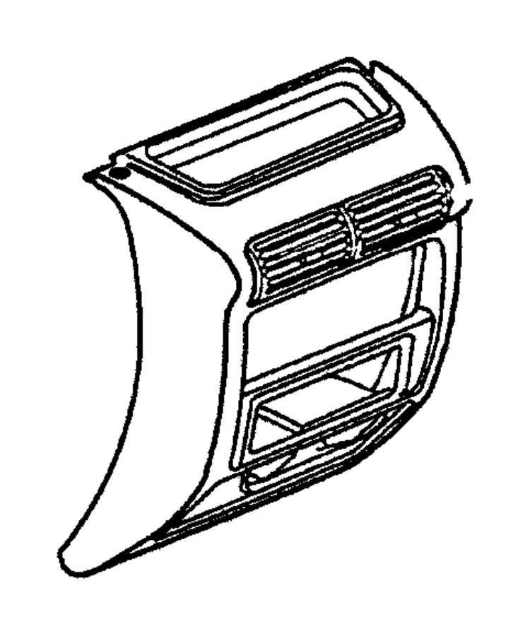 2004 Jeep Wrangler Rear Window Parts Diagram