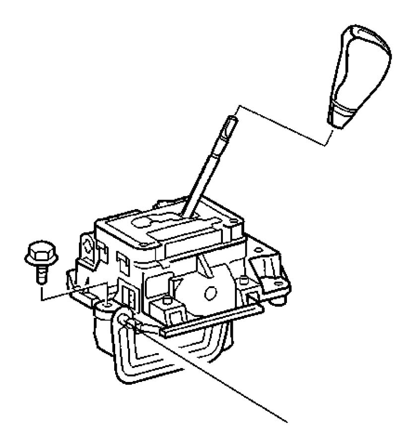 2005 Dodge SPRINTER 3500 Shifter. Transmission. Stability