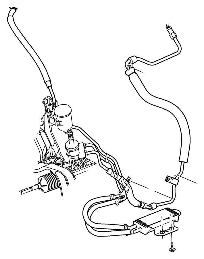 2006 Chrysler Town & Country Line. Power steering pressure