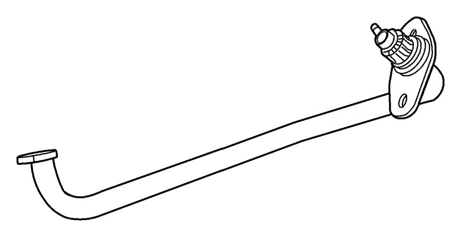Dodge Grand Caravan Tube. Egr. System, related, mopar
