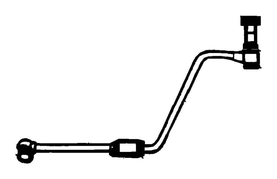 Dodge Ram 3500 Tube. Fuel supply. Emissions, california
