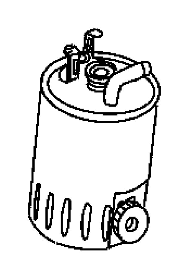 Dodge SPRINTER 3500 Filter. Fuel. Mercedes, diesel, engine