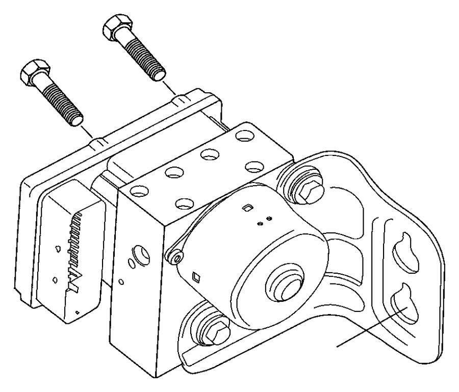 2006 Chrysler Pacifica Module. Anti-lock brakes. [anti