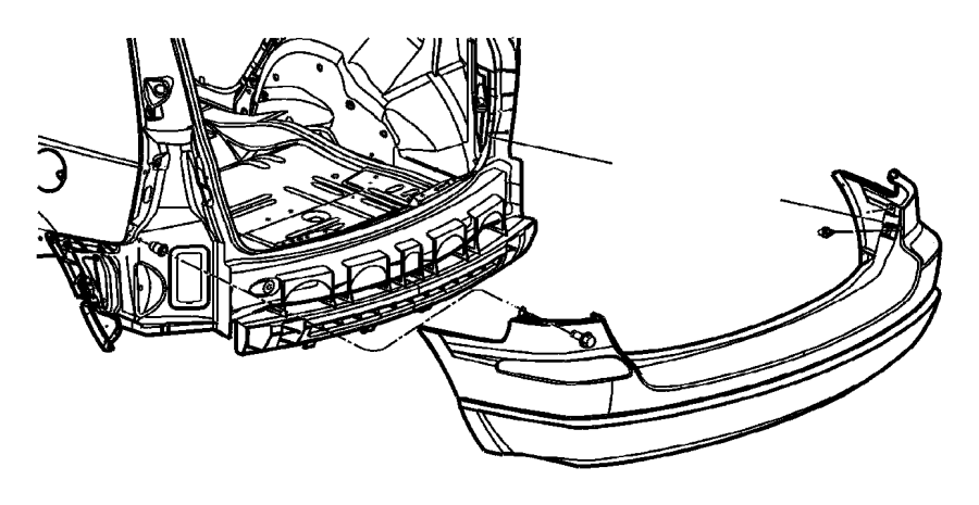 Jeep Compass Nut/rivet. M6x1.00x13.50. Cargo loop
