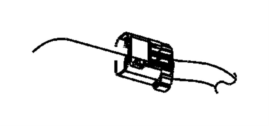 2003 Dodge Ram 3500 Hose. Filter to nvld. Detection, leak