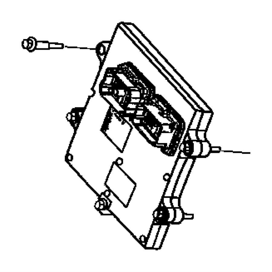 2003 Dodge Ram 2500 Module. Engine controller. Emissions