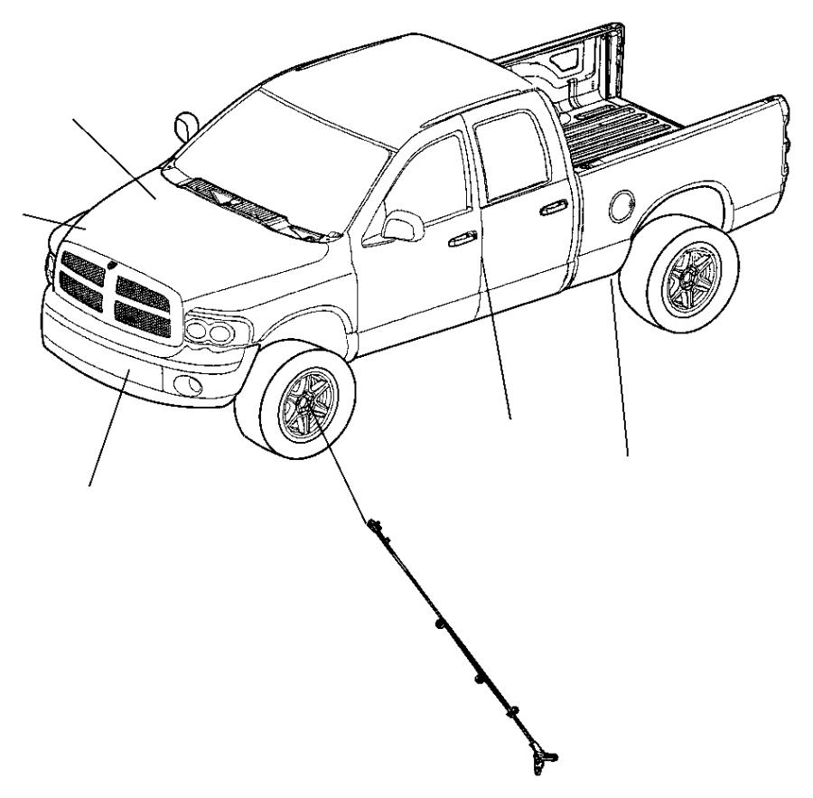 2011 Dodge Challenger Sensor kit. Anti-lock brakes. Right