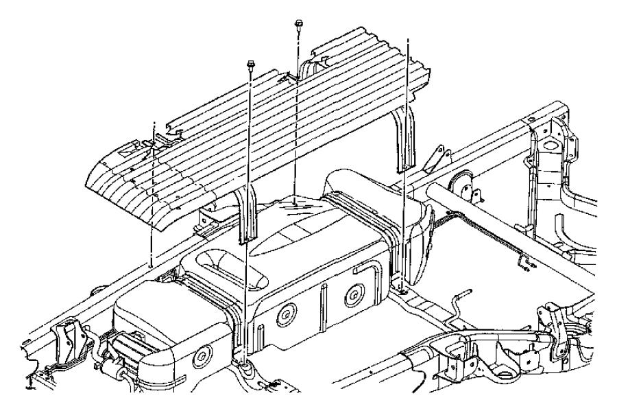 2005 Dodge Durango Tank. Fuel. [27 gallon fuel tank], [4