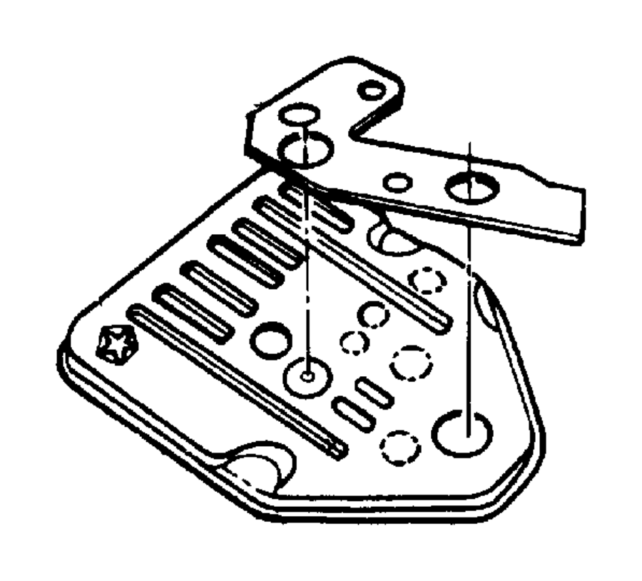Chrysler 727 Transmission Diagram