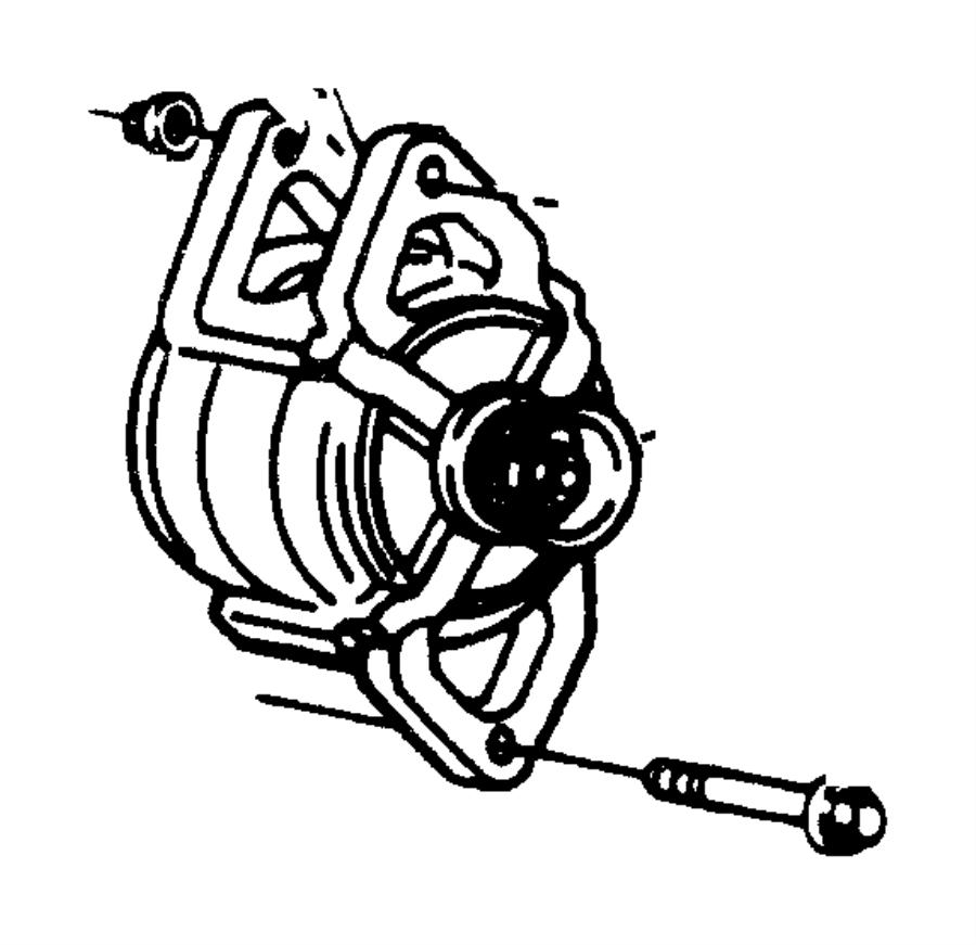 1991 Jeep Wrangler Generator. Engine. Alternator, amp, bau