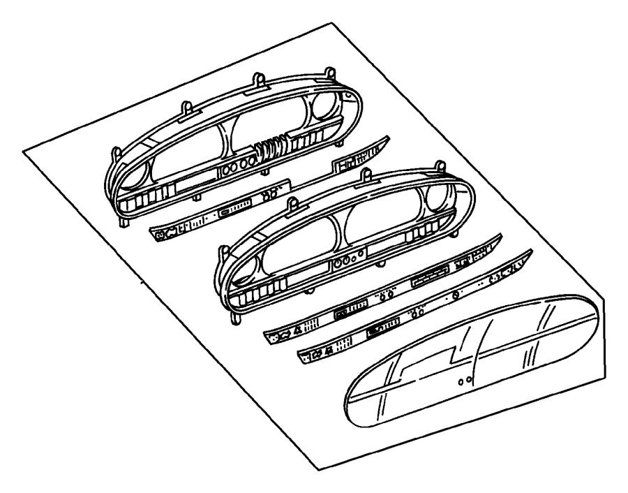 Chrysler Voyager Used for: MASK AND LENS. Instrument