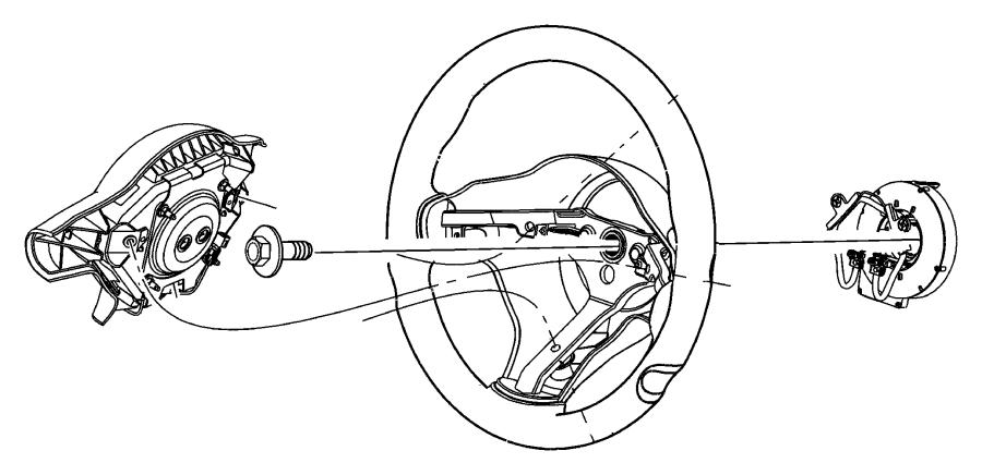 Dodge Viper Wheel. Steering. [x9], [xt]. Trim: [all trim