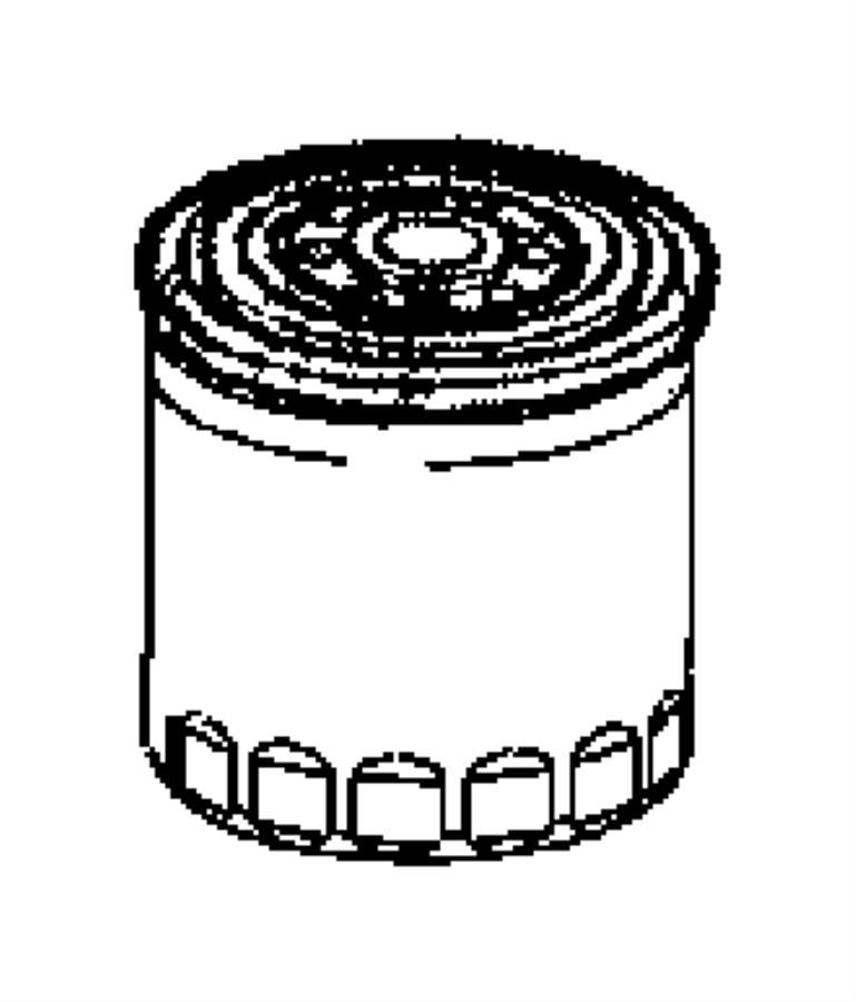 2006 Dodge Viper Filter. Engine oil. Oiling, ewc