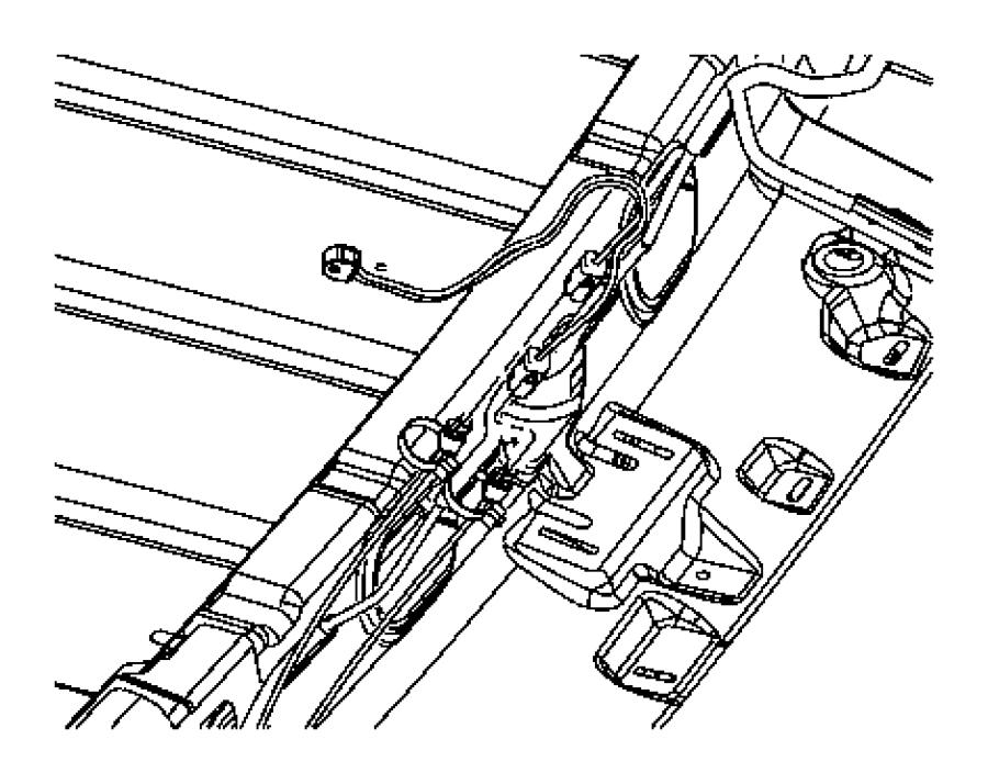 2006 Jeep Liberty Wiring. Keyless entry. Antenna