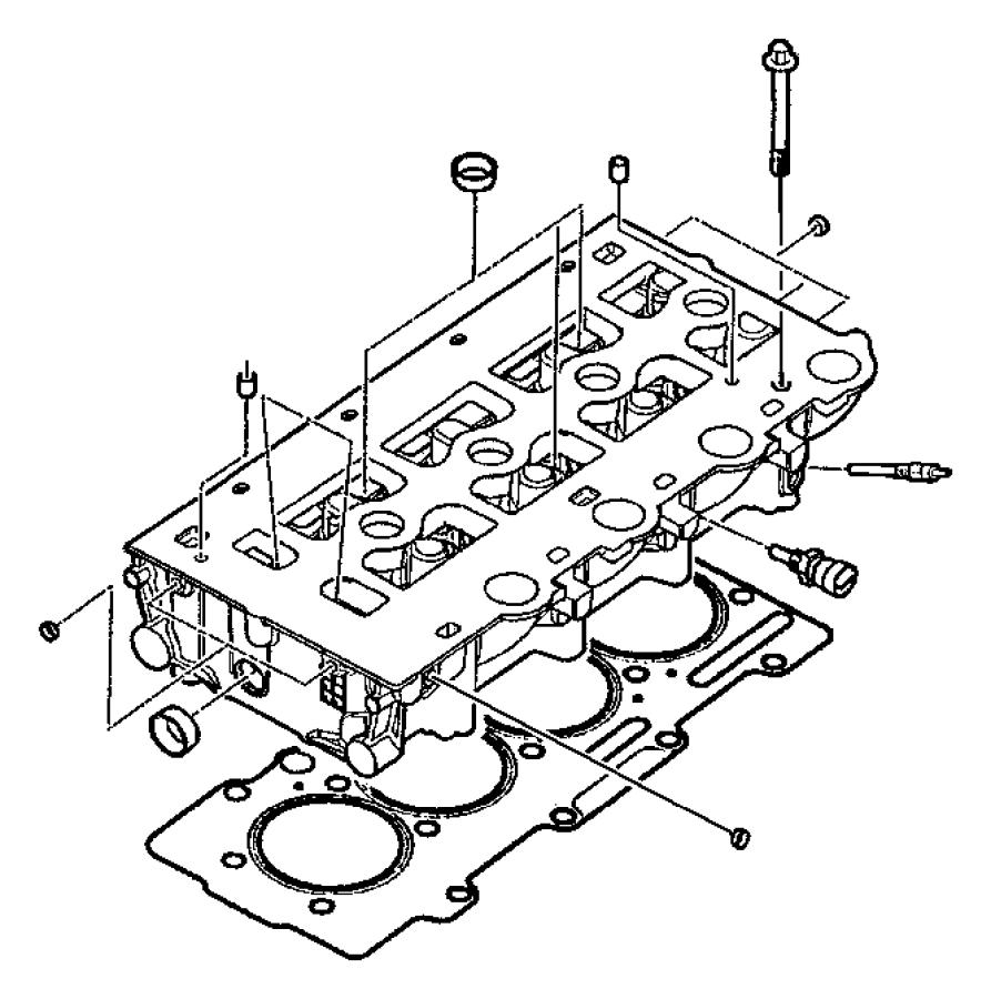 2002 Chrysler Sebring Washer. Plain. [2.8l i4 turbo diesel