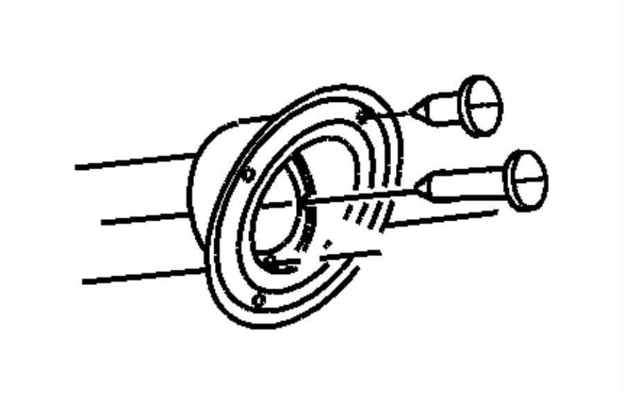 2005 Jeep Wrangler Tube. Fuel filler. Tank, mopar, erh
