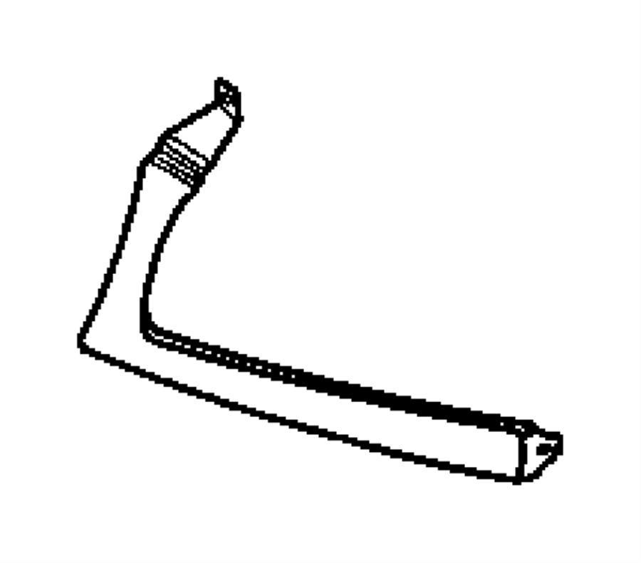 Dodge SPRINTER Bezel, cover. Headlamp. Left. Badge