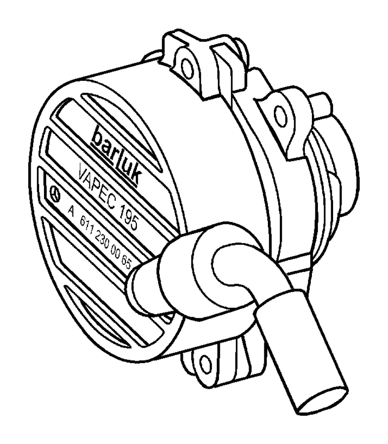 Dodge Sprinter 2500 Pump. Vacuum. Engine, diesel, vaccum