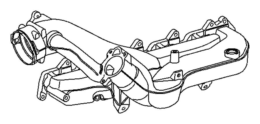 2004 Dodge SPRINTER 3500 Valve. Egr. System, engine